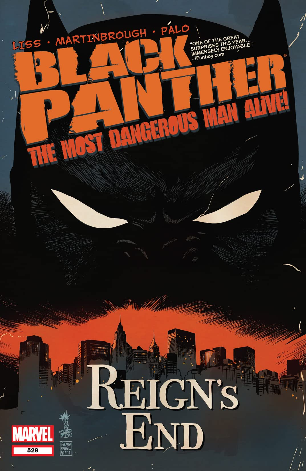 Black Panther: The Most Dangerous Man Alive (2010-2012) No.529