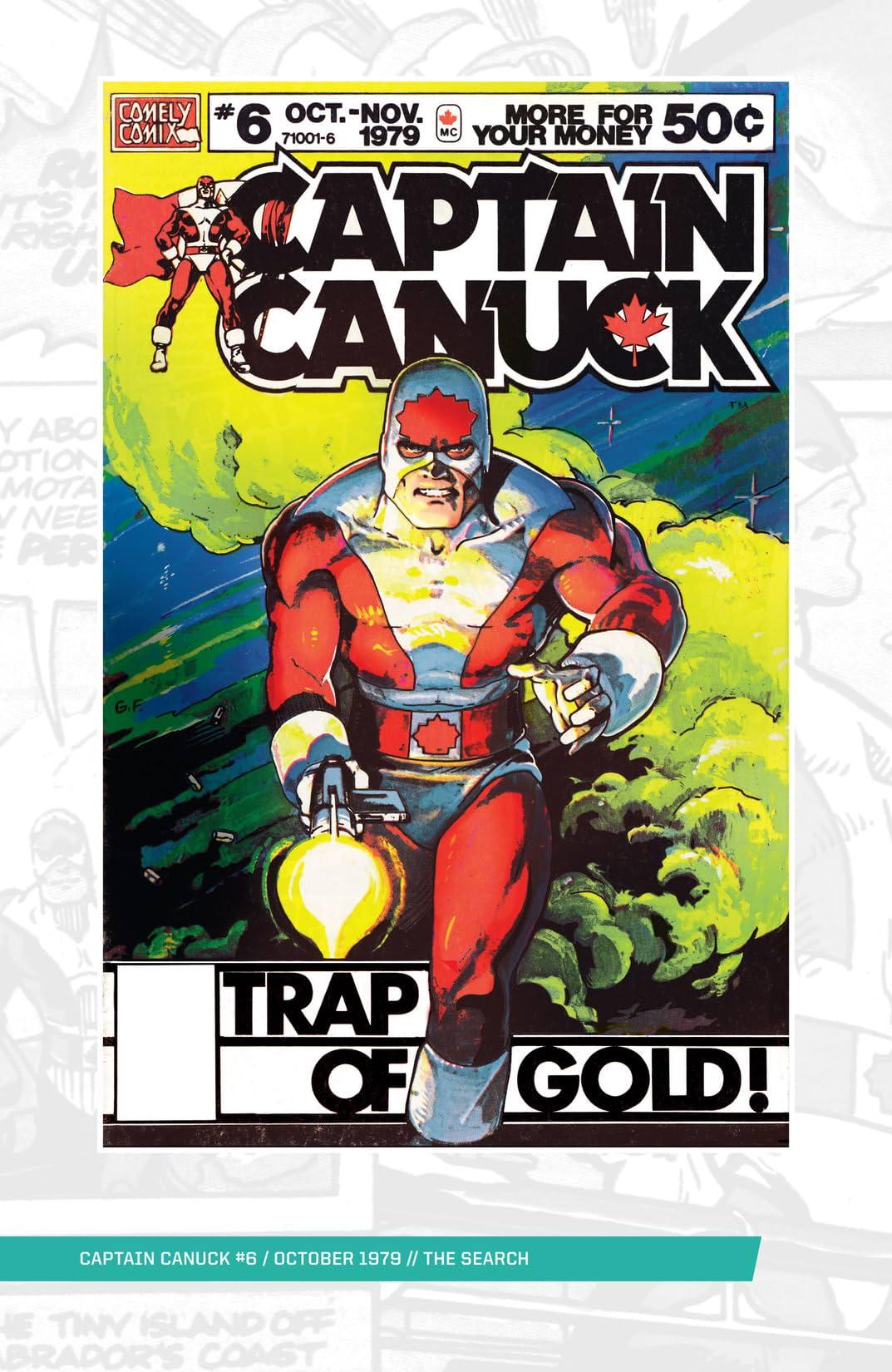 Captain Canuck - Original Series #6