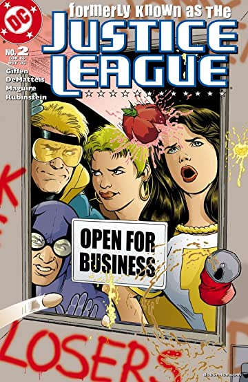 Formerly Known as the Justice League (2003) #2