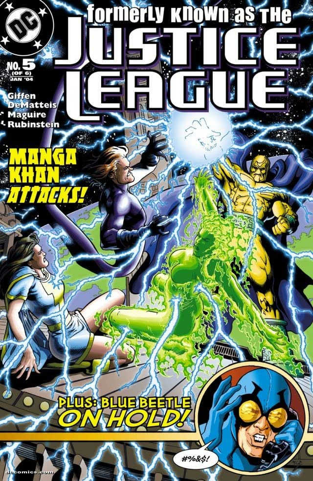 Formerly Known as the Justice League (2003) #5