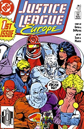 Justice League Europe (1989-1993) #1