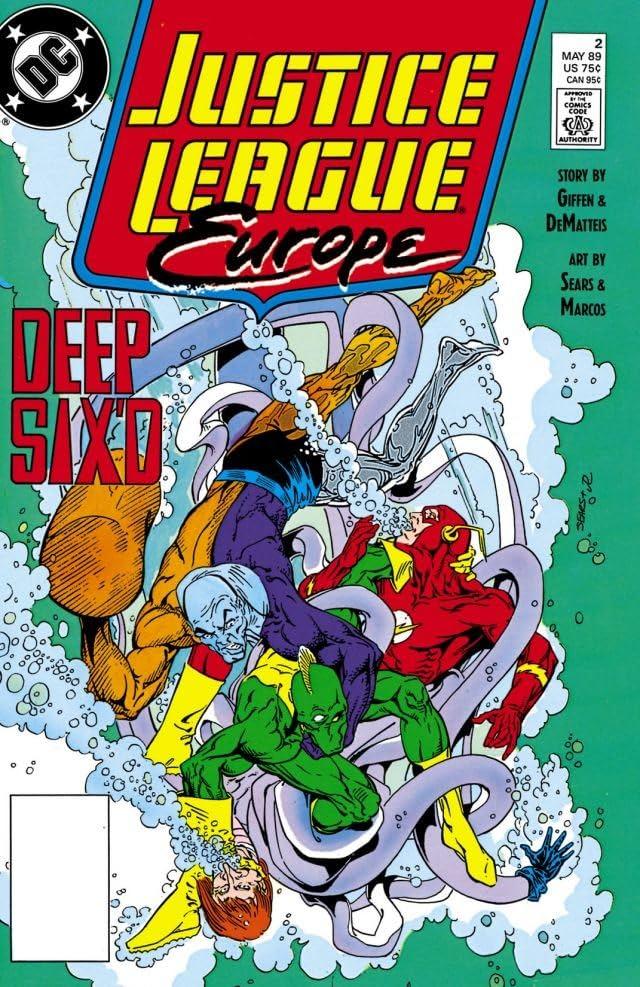 Justice League Europe (1989-1993) #2