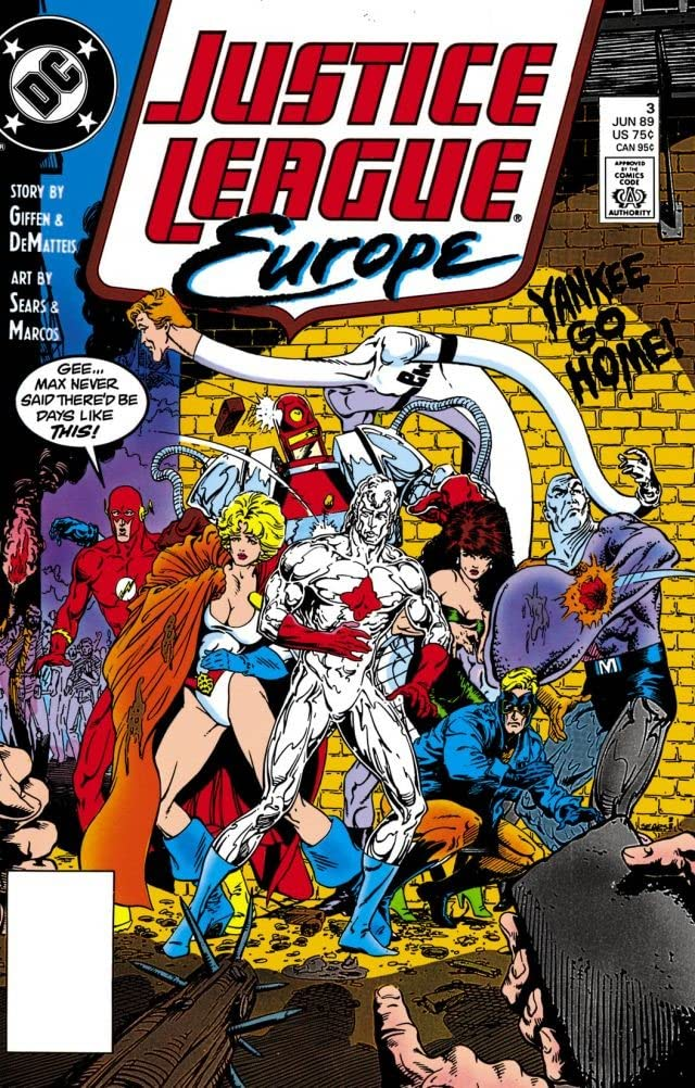 Justice League Europe (1989-1993) #3