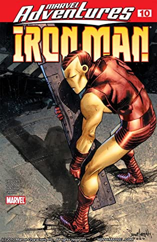 Marvel Adventures Iron Man (2007-2008) #10