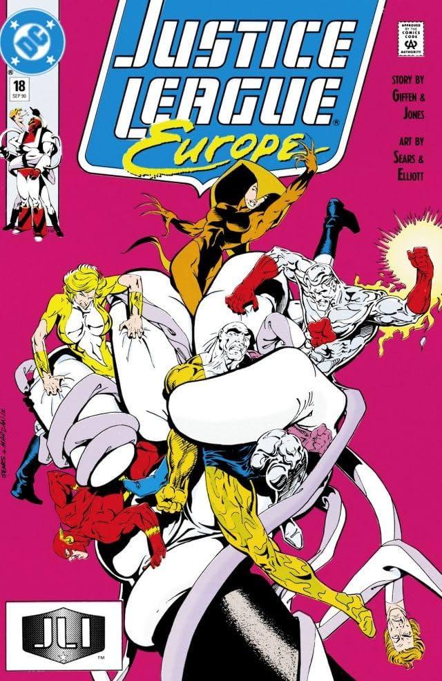 Justice League Europe (1989-1993) #18