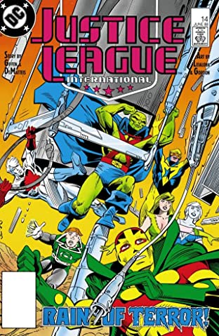 Justice League International (1987-1989) No.14