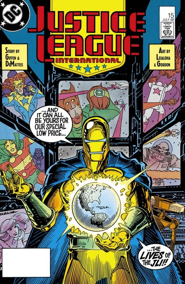 Justice League International (1987-1989) #15