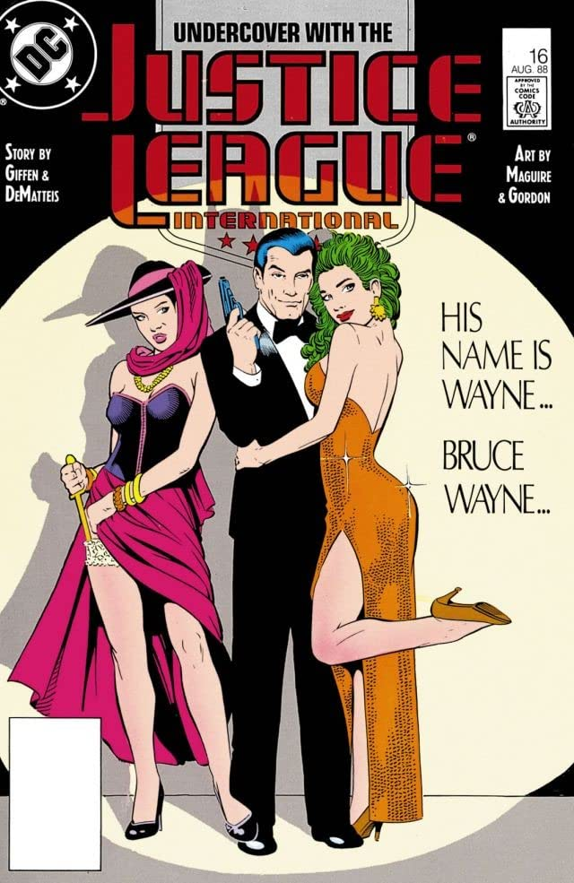 Justice League International (1987-1989) #16