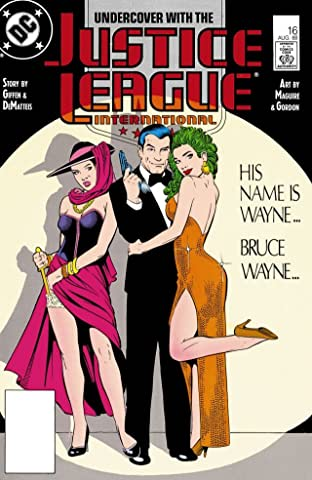Justice League International (1987-1989) No.16