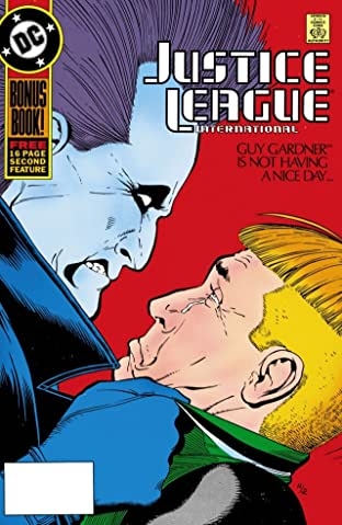 Justice League International (1987-1989) #18