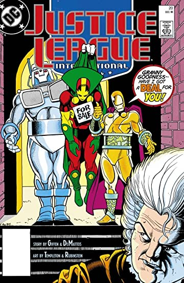Justice League International (1987-1989) #20