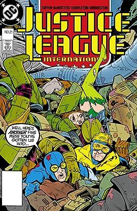 Justice League International (1987-1989) #21