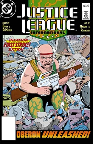 Justice League International (1987-1989) #22