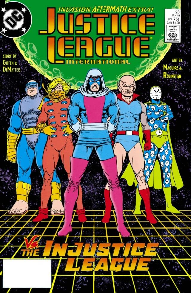Justice League International (1987-1989) #23