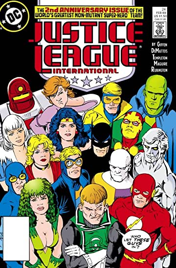 Justice League International (1987-1989) #24