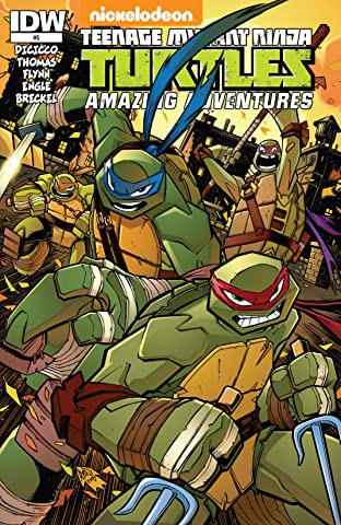 Teenage Mutant Ninja Turtles: Amazing Adventures No.5