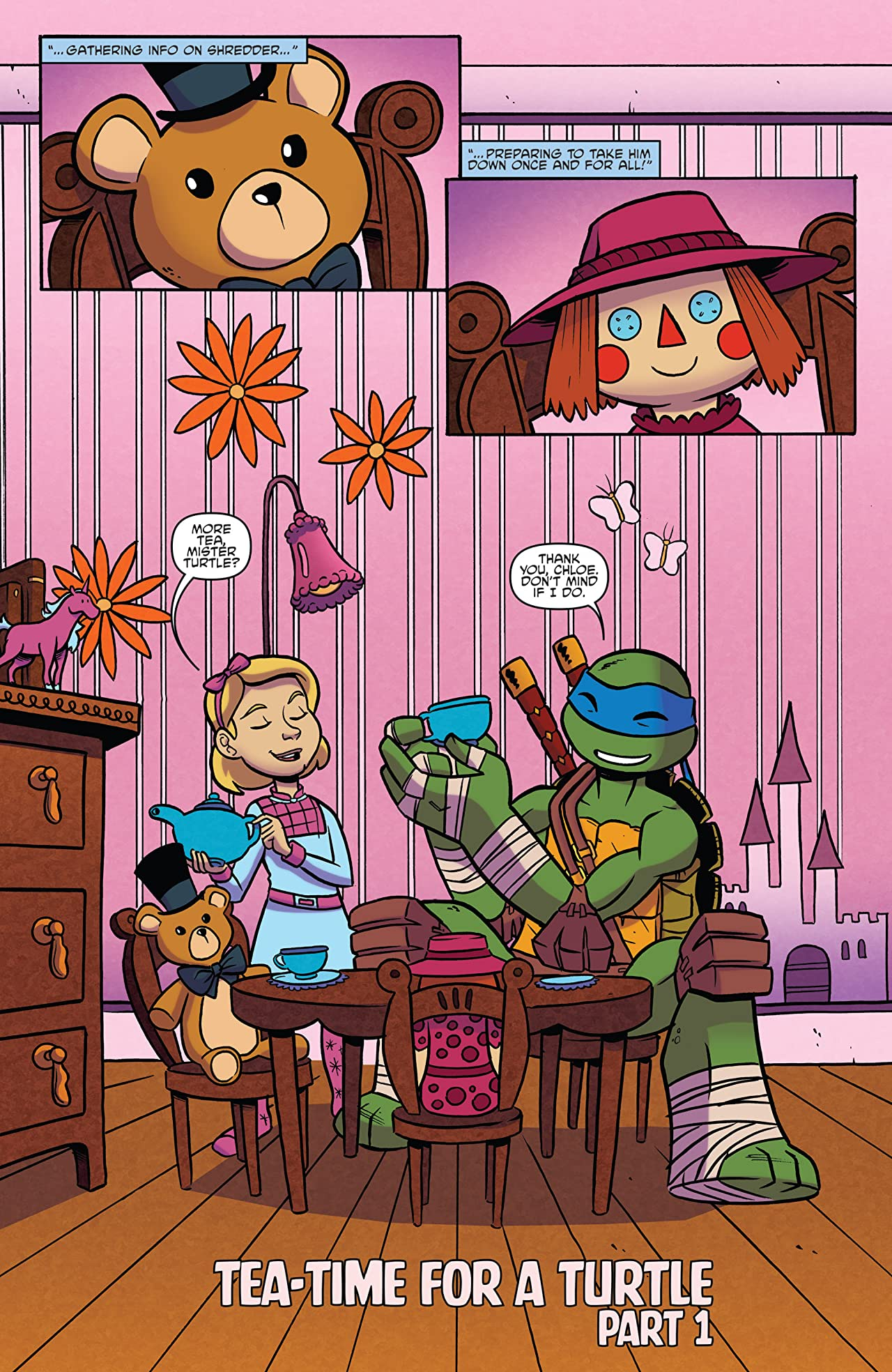 Teenage Mutant Ninja Turtles: Amazing Adventures #5