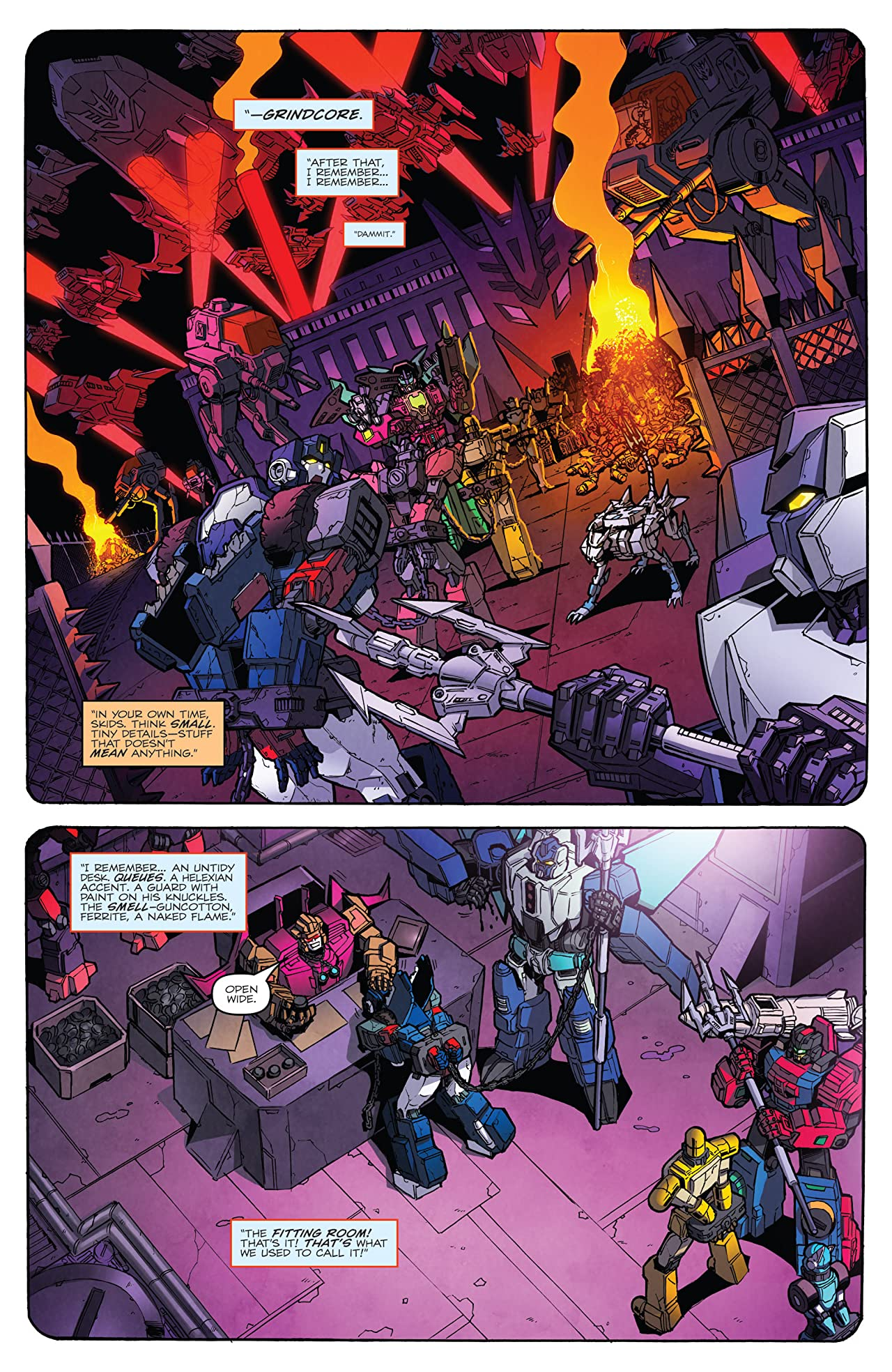 Transformers: More Than Meets the Eye (2011-) #48