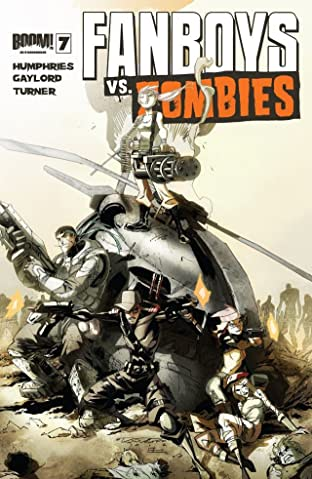 Fanboys vs. Zombies #7
