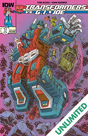 Transformers vs. G.I. Joe Vol. 2
