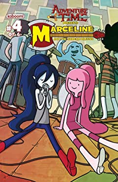 Adventure Time: Marceline and the Scream Queens No.4