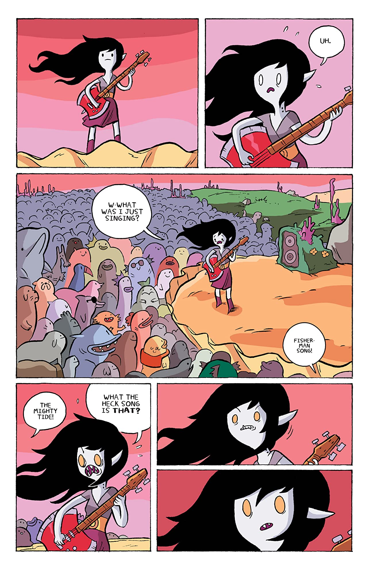Adventure Time: Marceline and the Scream Queens #4
