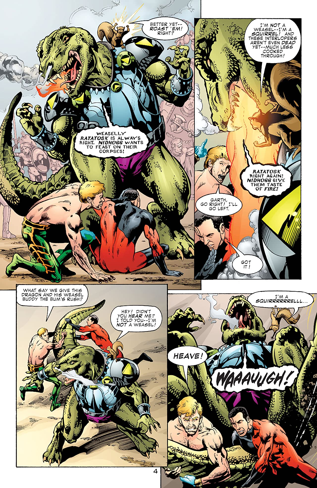 Aquaman (2003-2006) #7
