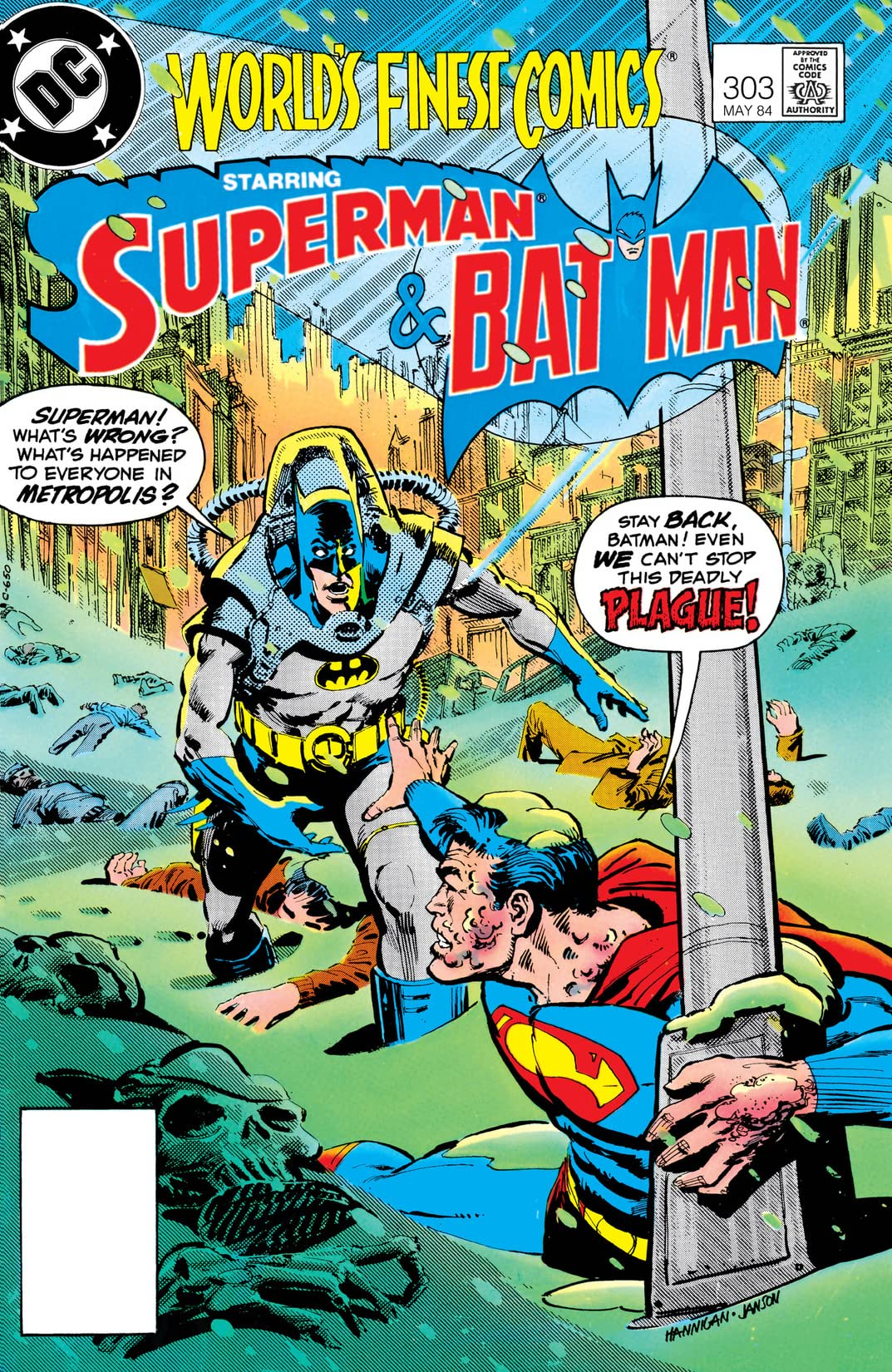 World's Finest Comics (1941-1986) #303