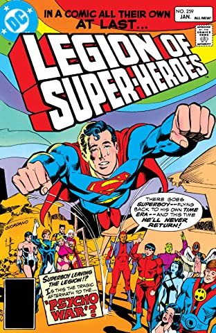 Legion of Super-Heroes (1980-1985) #259