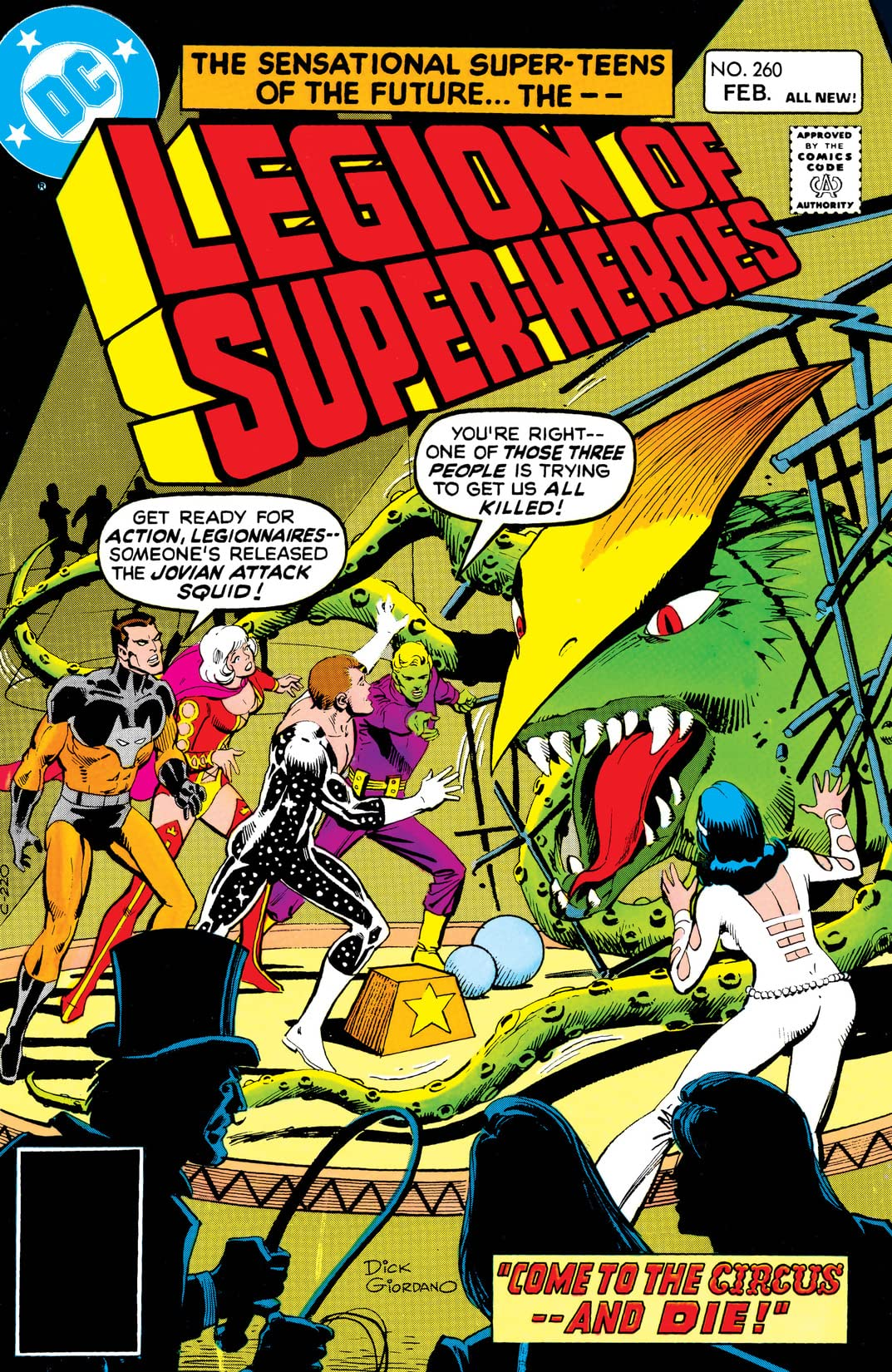 Legion of Super-Heroes (1980-1985) #260