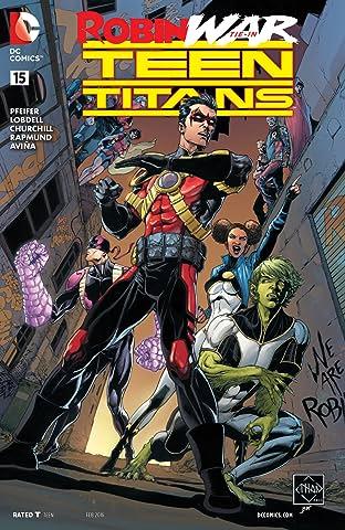 Teen Titans (2014-2016) No.15