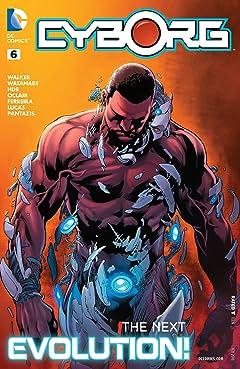 Cyborg (2015-2016) #6