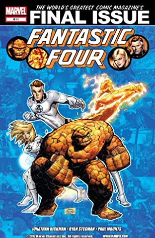 Fantastic Four (1998-2012) No.611