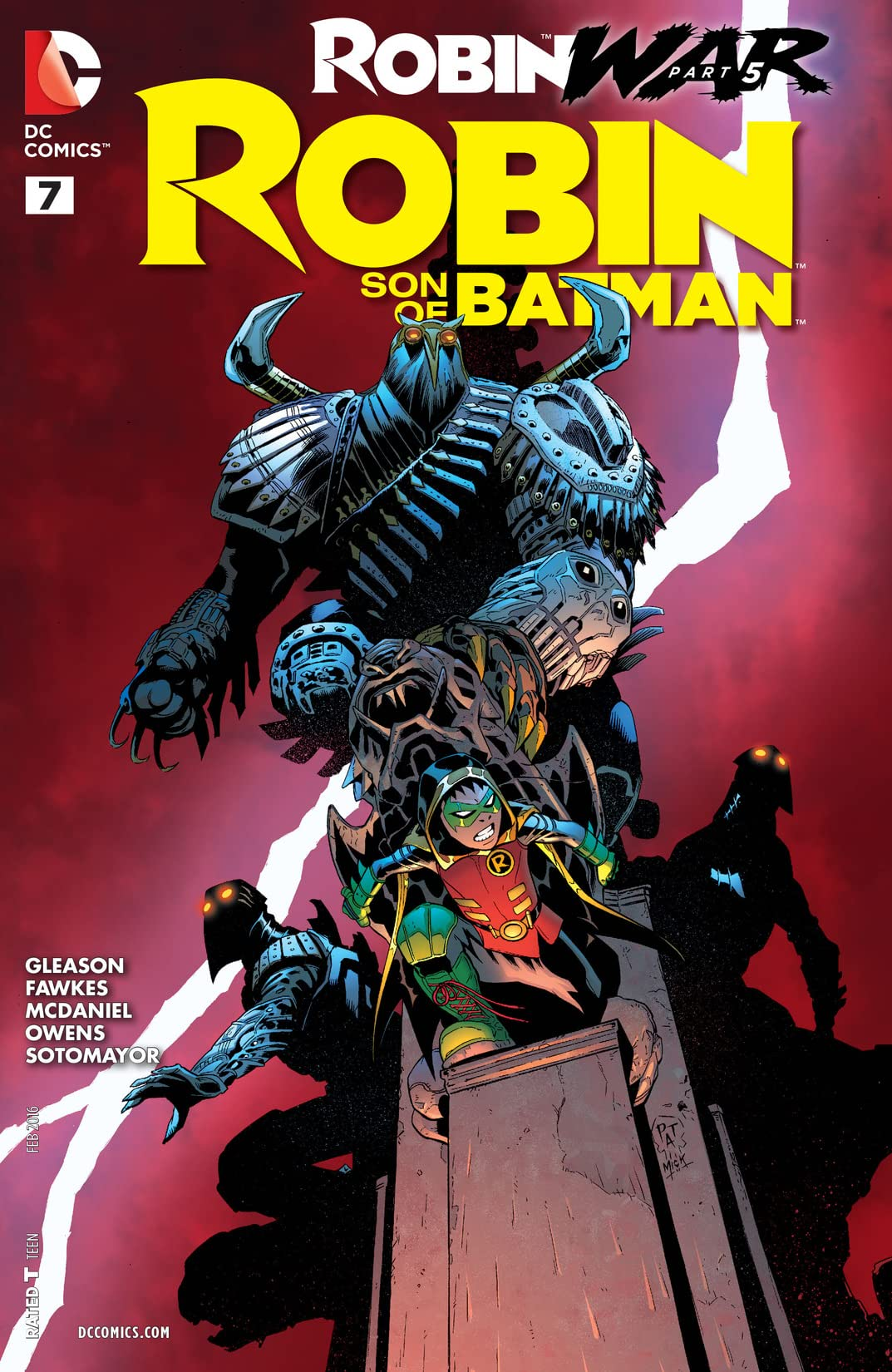 Robin: Son of Batman (2015-2016) #7
