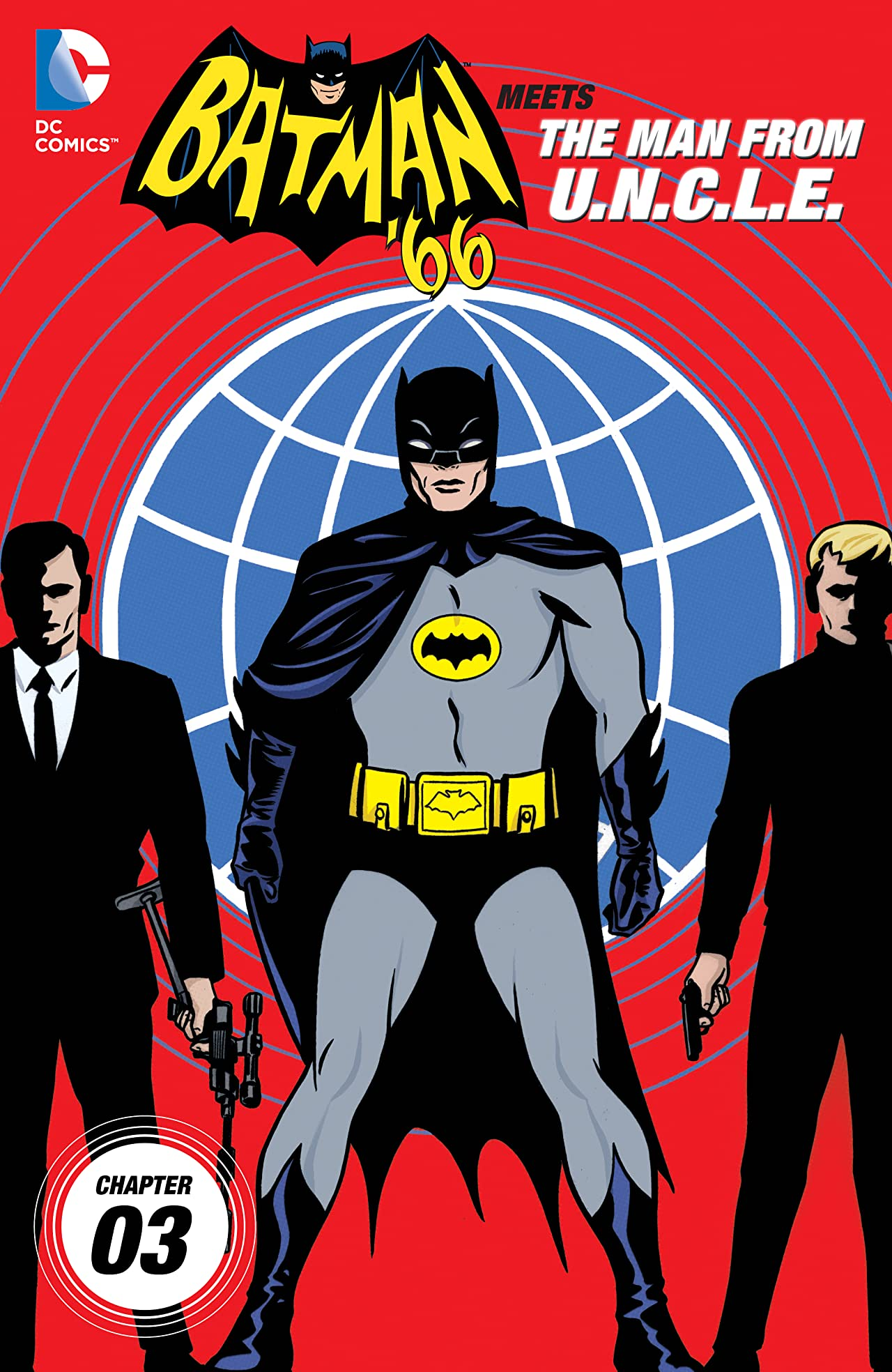 Batman '66 Meets the Man From UNCLE (2015-2016) #3