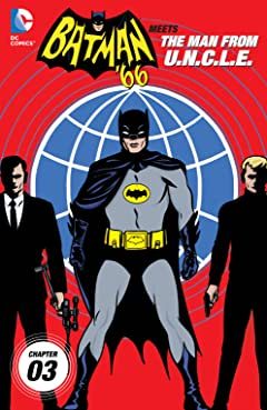 Batman '66 Meets the Man From UNCLE (2015-2016) No.3
