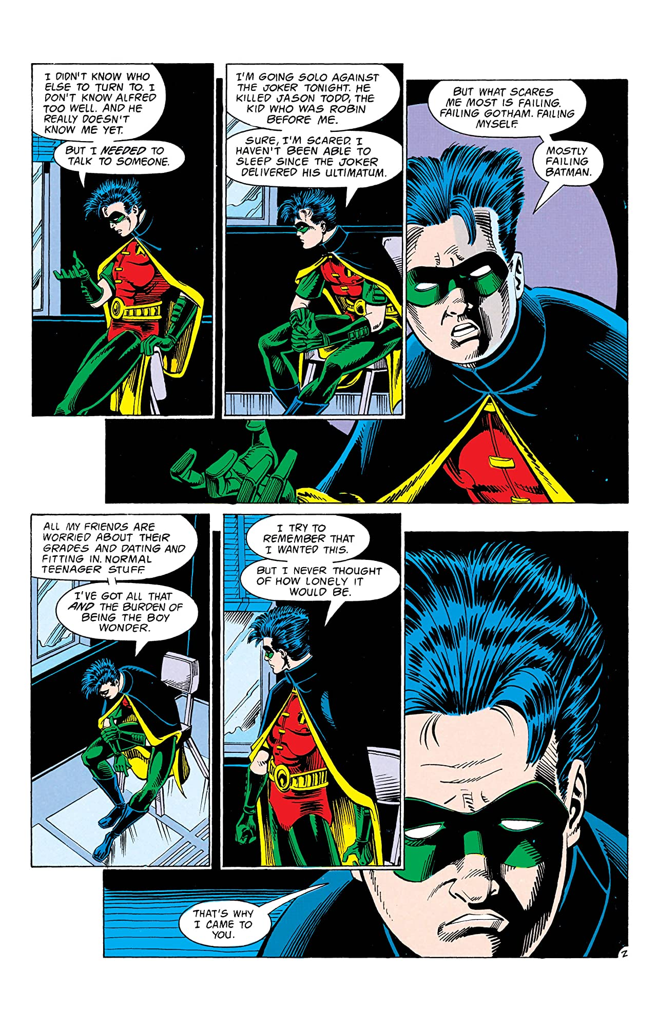 Robin II: Joker's Wild (1991) #4