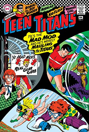Teen Titans (1966-1978) No.7