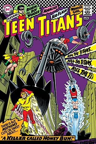 Teen Titans (1966-1978) No.8