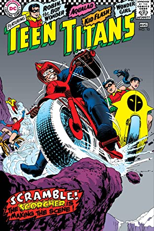 Teen Titans (1966-1978) No.10
