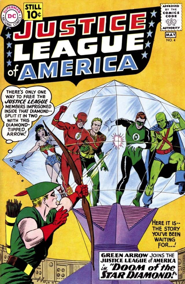 Justice League of America (1960-1987) #4