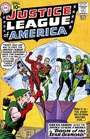 Justice League of America (1960-1987) No.4