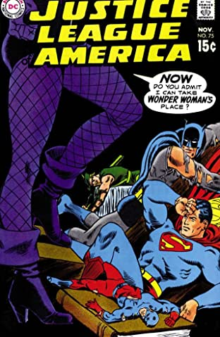 Justice League of America (1960-1987) No.75