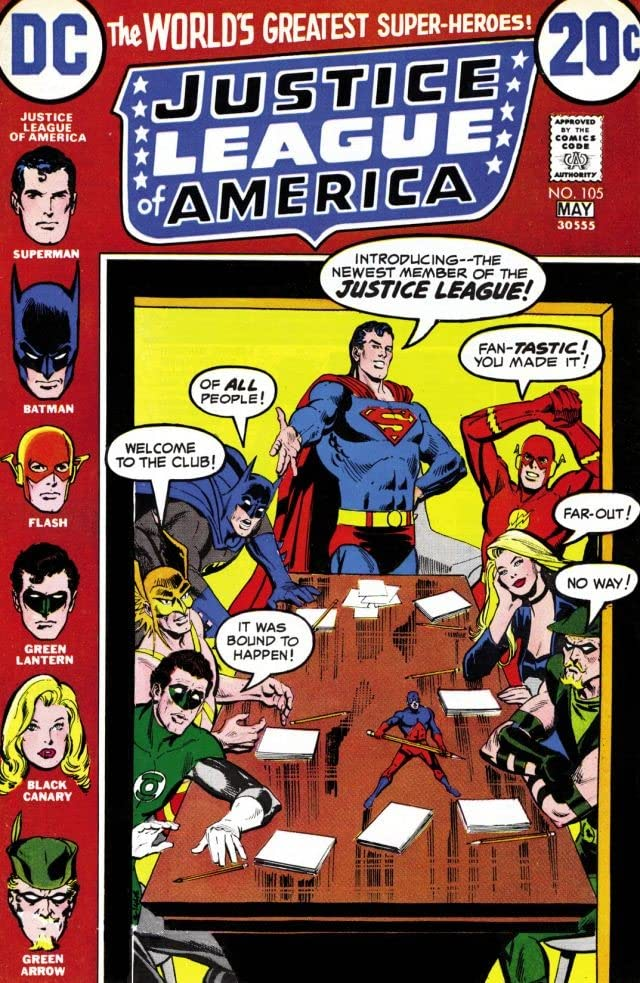 Justice League of America (1960-1987) #105