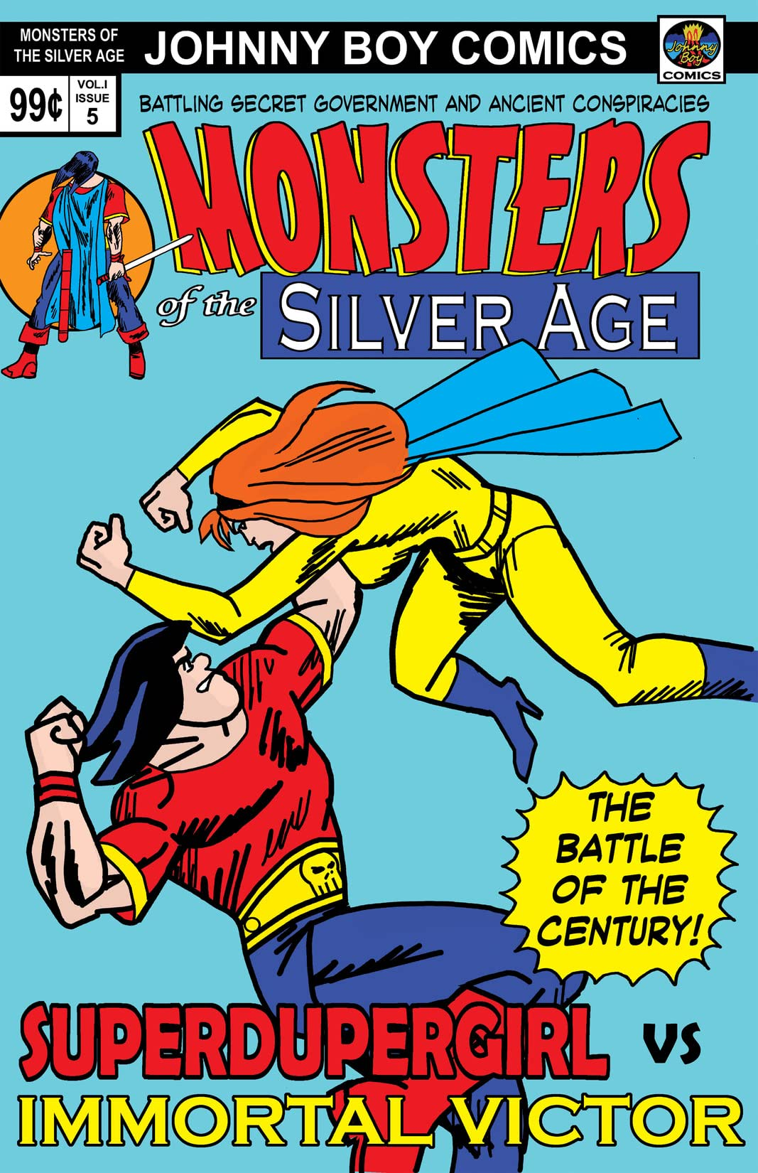 Monsters Of The Silver Age #5