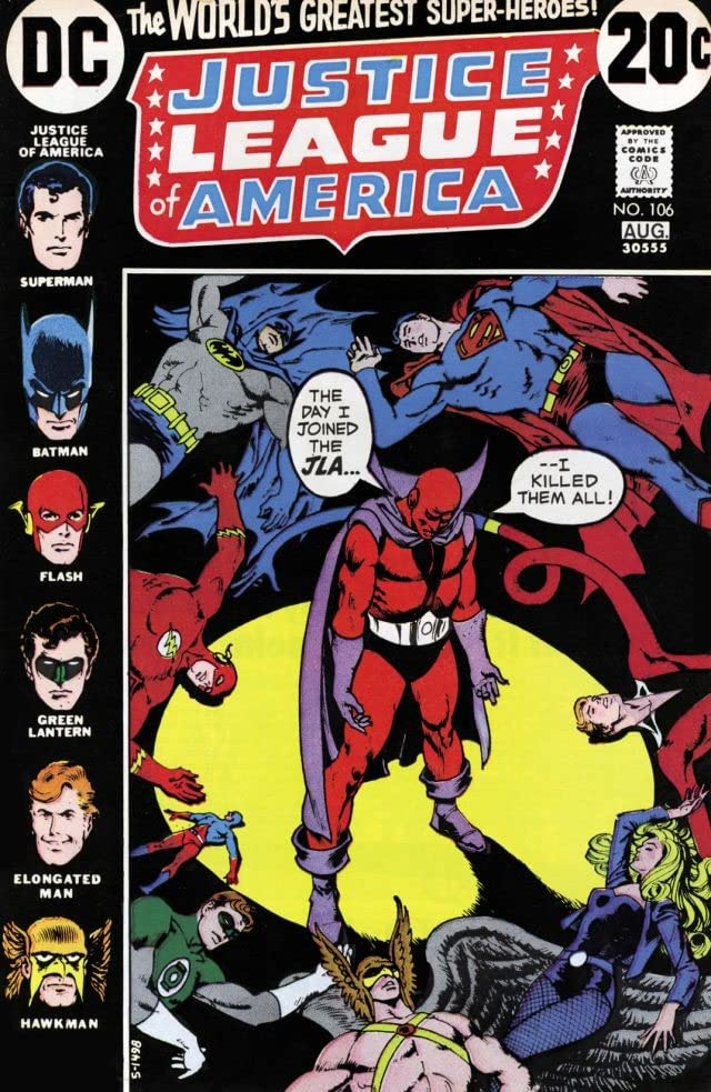 Justice League of America (1960-1987) #106