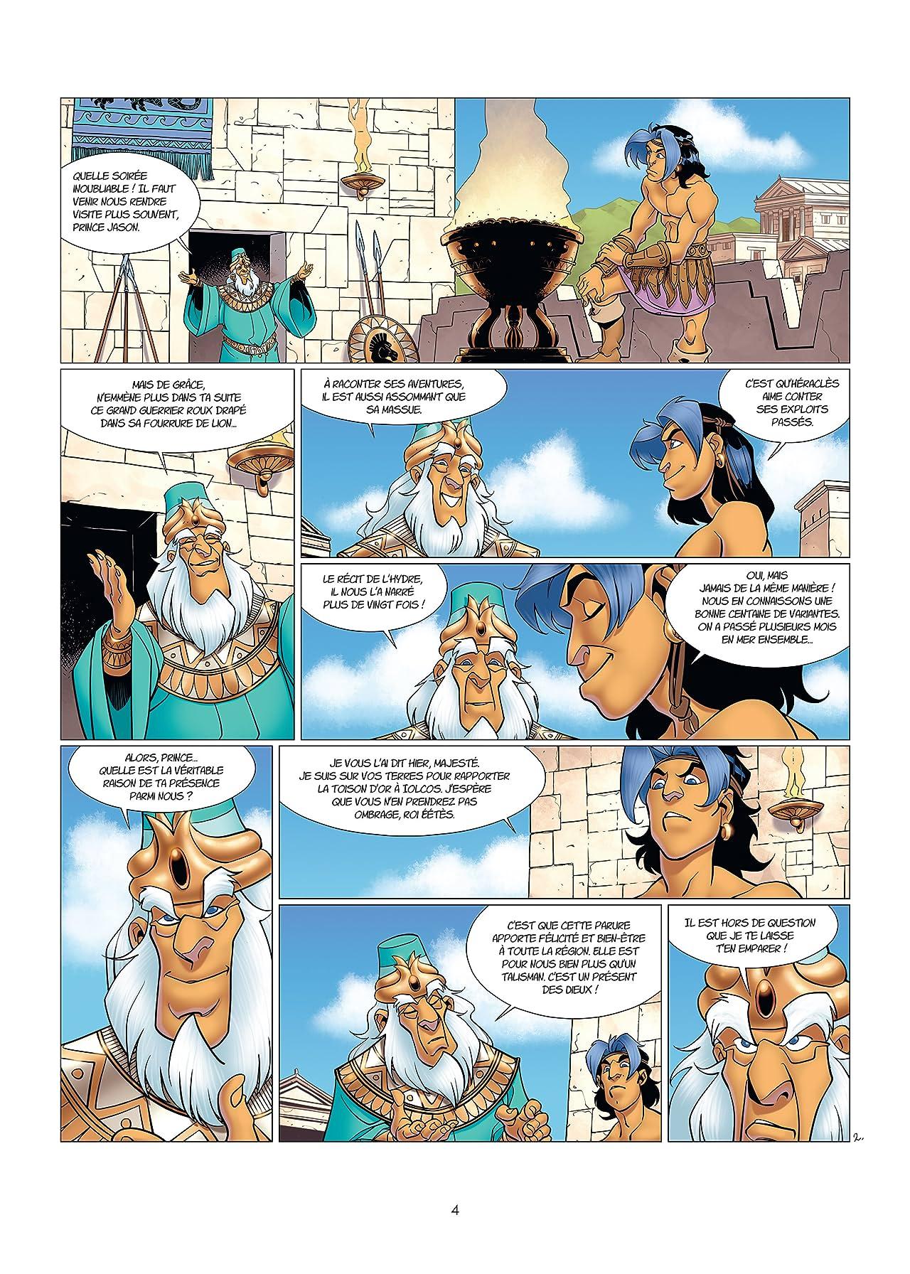Atalante Vol. 8: Les Taureaux de Colchide
