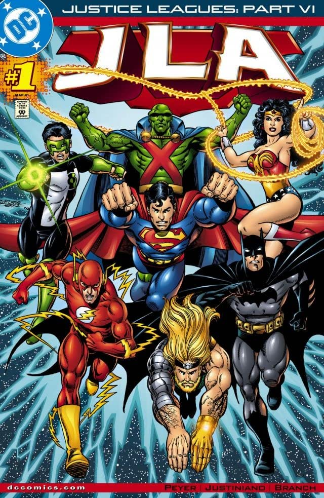 Justice Leagues (2001) #1: Justlce League of America