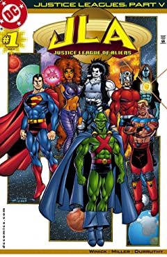 Justice Leagues (2001) #1: Justice League of Aliens