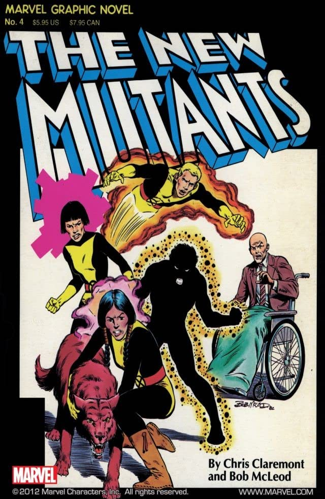Marvel Graphic Novel #4: The New Mutants
